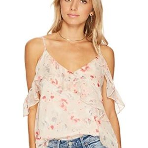 ASTR the label S cold should tank top floral 0684